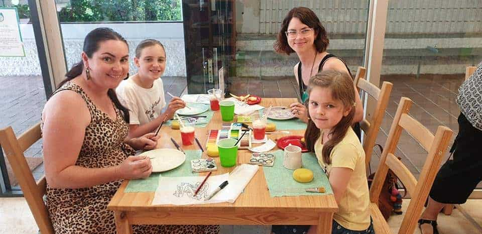 family painting